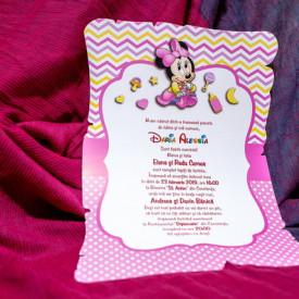 Invitatie de botez Minnie