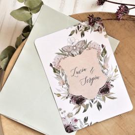 Invitatie de nunta ECO 39789