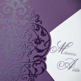 Invitatie de nunta eleganta 32812