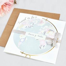 Invitatie de nunta glob 39702