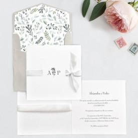 Invitatie de nunta Lux