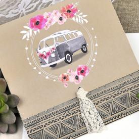 Invitatie de nunta masina
