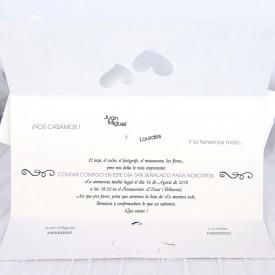 Invitatie de nunta oras