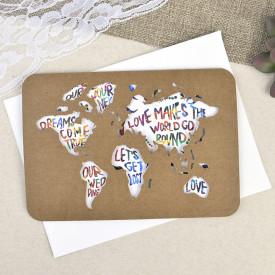 Invitatie de nunta pasaport