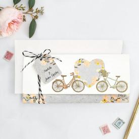 Invitatie de nunta bicicleta 39717