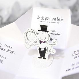 Invitatie de nunta comic 39211