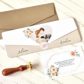 Invitatie de nunta ECO 39761