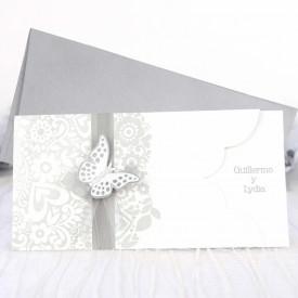 Invitatie de nunta fluture 39222