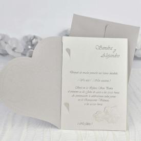 Invitatie de nunta inima 35103