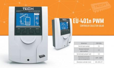 Poze Controler colector solar Tech Controllers, cod EU-401n