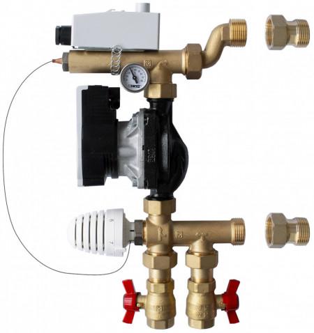 Poze Grup de amestec Herz pentru sisteme de încălzire radiantă cu pompa de recirculare de inalta eficienta, cod 1 7320 05