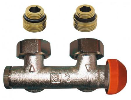 Poze Piesa de legatura cu robinet termostatic incorporat Herz TS-3000, cod 1 3694 91