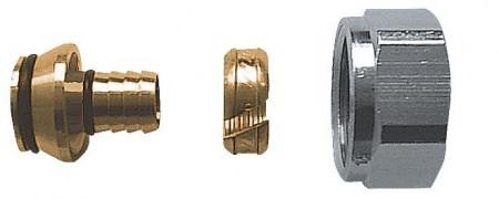 """Poze Racord pentru ţevi din material plastic 3/4"""", pentru ţevi din PE-X, PB şi cu inserţie de Al G3/4"""" 16 x 2 mm cod 1 6098 03"""