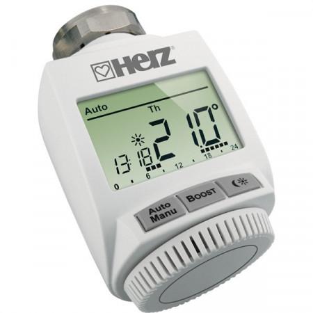 Cap termostatic electronic Herz ETKF+, M28 x 1,5, cod 1 8251 01
