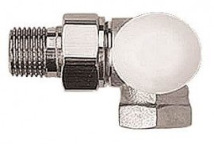 "Robinet cu ventil termostatic DN15 HERZ-TS-90 Model în trei axe ""CD"" 1 7759 91"