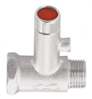 Poze Supapa de siguranta Herz Armaturen pentru boiler cu clapeta de sens incorporata PN 8 DN 15 cod UH 13001