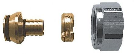"""Poze Racord pentru ţevi din material plastic 3/4"""", pentru ţevi din PE-X, PB şi cu inserţie de Al G3/4"""" 17 x 2 mm cod 1 6098 04"""