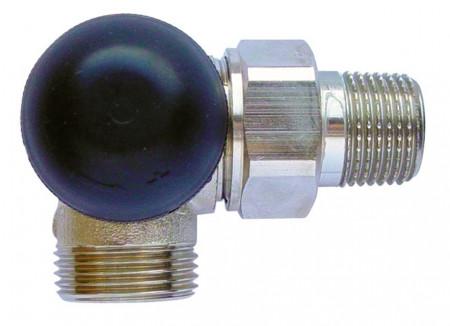 "Poze Robinet cu ventil termostatic, model in 3 axe ""AB"", M30 x 1,5 - 1/2'', FE, cod 1 7745 26 si conector de 15(Cu) sau 16 (PeX)"