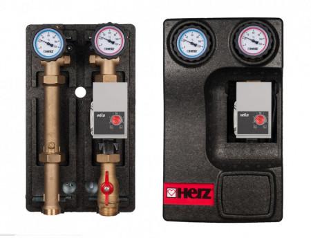 Poze Grup pompare PUMPFIX DIRECT echipat cu pompa de inalta eficienta Wilo Yonos PARA, DN 25, cod 1 4510 26