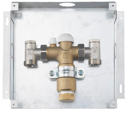 Poze HERZ-Floor Fix, set de reglare pentru încălzirea în pardoseală pentru montaj sub tencuială