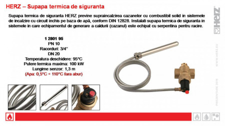Poze Vană termică de siguranță Herz 1 2801 95