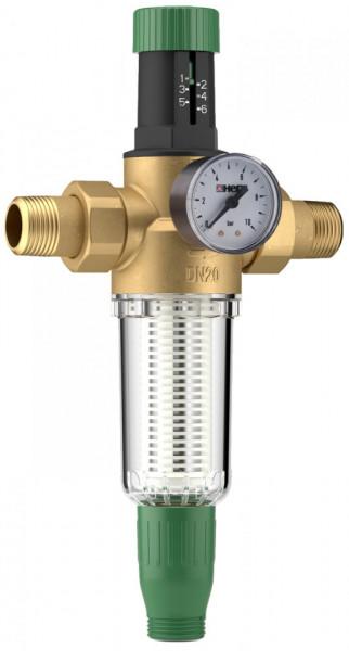 Poze Filtru pentru apa potabila cu reductor de presiune Herz, DN 25, PN16, cod 2 3011 03
