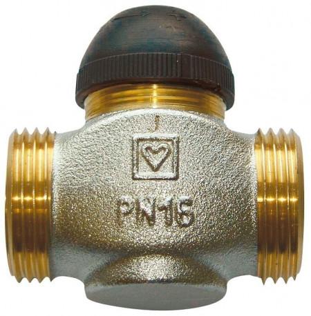 "Poze Robinet cu ventil termostatic Herz model drept cod 1 7760 08 DN 20 (filet 1"") kvs=4.5"