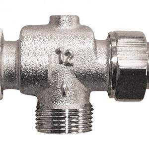 "Robinet cu ventil termostatic Herz, model coltar special, filet exterior, 1/2"", cod 1 7748 91"