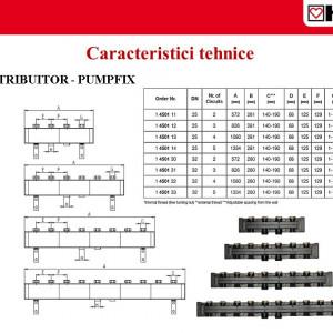 Distribuitor pentru 3 grupuri de pompare PUMPFIX DN 32 1 4501 31