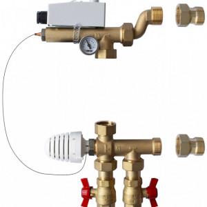 Grup de amestec pentru sisteme de încălzire radiantă FARA pompa de recirculare 1 7320 07