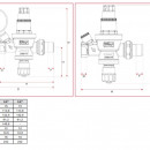 Grup de umplere automat ITAP, 1/2'', fara manometru, cod 1460012SM