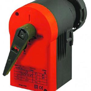 Acţionare electrică pentru robinetele de reglare cu sfera cu 2 căi Herz (cod 1 2117 1X), Cuplu de forțe 8 Nm, tensiune AC/DC 24 V, comandă în 2/3 puncte sau control continuu, cod 1 7712 35