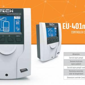 Controler colector solar Tech Controllers, cod EU-401n