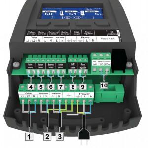 Controler Tech pentru instalatie EU-i1, ACM - 1 Circuit incalzire, 1 Circuit ACM, 1 Contact centrala