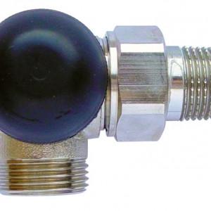"""Robinet cu ventil termostatic, model in 3 axe """"AB"""", M30 x 1,5 - 1/2'', FE, cod 1 7745 26 si conector de 15(Cu) sau 16 (PeX)"""
