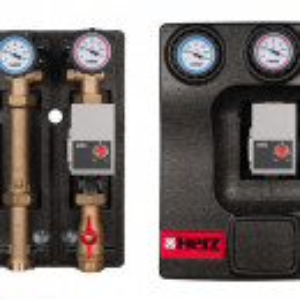 Grup pompare PUMPFIX DIRECT echipat cu pompa de inalta eficienta Wilo Yonos PARA, DN 25, cod 1 4510 26