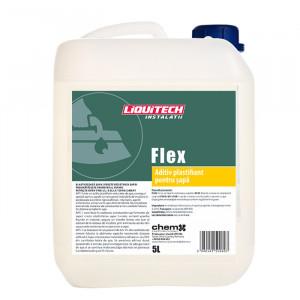 Aditiv plastifiant sapa pentru instalatiile de incalzire in pardoseala, Liquitech Flex, 5l, cod P302