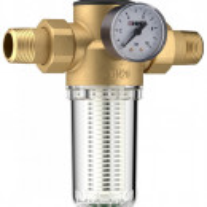 Filtru pentru apa potabila cu reductor de presiune Herz, DN 25, PN16, cod 2 3011 03