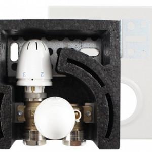 HERZ FLOORFIX COMPACT Grup de reglare temperatura de ambient si agent termic pentru incalzire in pardoseala, cod 1 8100 30