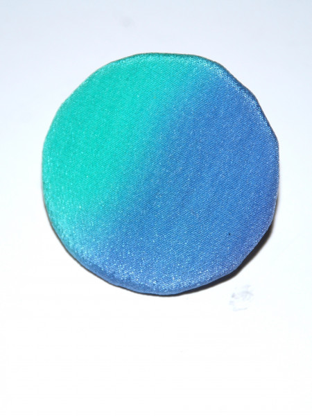 Клипс от рисувана коприна 12