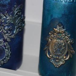 Комплект от 2 броя стъклени шишета