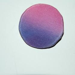 Клипс от рисувана коприна 11