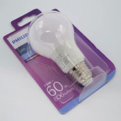 Bec led 8W A60 E27, Philips, lumina calda