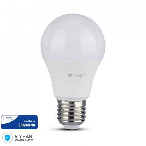 Bec led chip Samsung 9W(60W), E27, 806 lm, A+, lumina rece, V-TAC