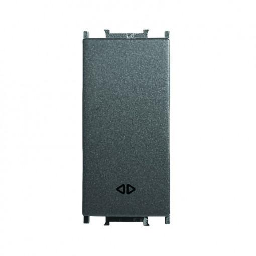 Intrerupator cruce 1 modul Thea Modular Panasonic, Negru