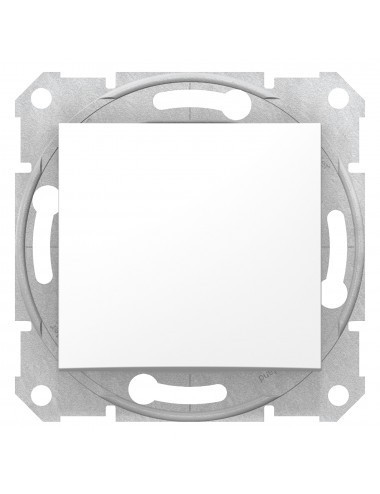 Intrerupator cruce 10A, IP 20, Alb, Schneider Sedna