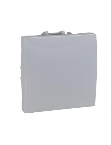 Intrerupator simplu, 2 module, 10A, alb, Schneider Unica