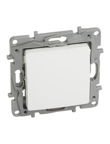 Intrerupator simplu, alb, 10A, IP20, Legrand Niloe