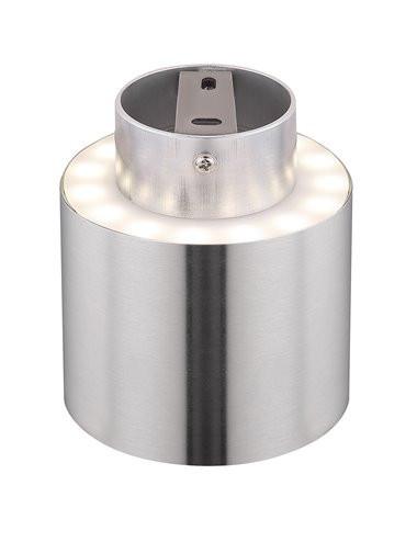 Plafoniera argintie 8W Globo 12015N