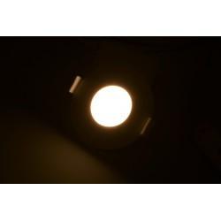 Spot led 3W Rotund 3000K, Incastrat, Panasonic